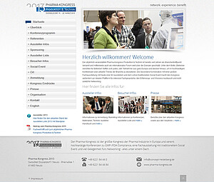 Pharma Kongress Heidelberg Website